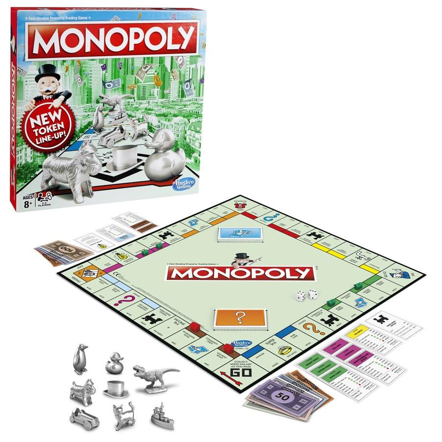 Настольная игра: Классическая Монополия, Обновленная - Монополия, артикул: 173568