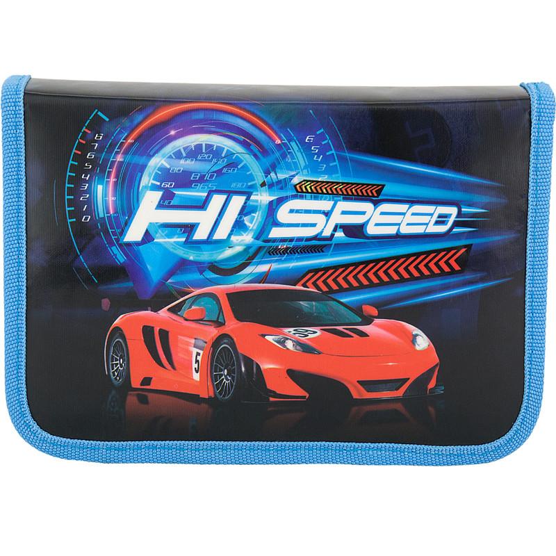 Пенал 622 Hi speed с 1 отделением и 2 отворотами, без наполненияПеналы<br>Пенал 622 Hi speed с 1 отделением и 2 отворотами, без наполнения<br>