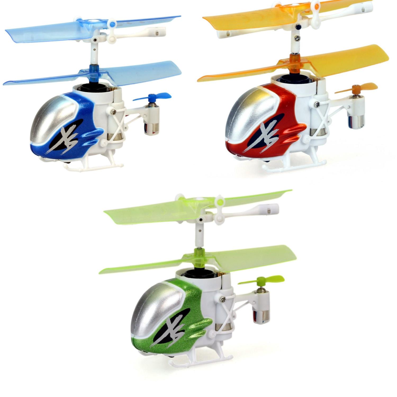 Вертолет Нано Фалкон Silverlit XS из книги рекордов ГиннессаРадиоуправляемые вертолеты<br>Вертолет Нано Фалкон Silverlit XS из книги рекордов Гиннесса<br>