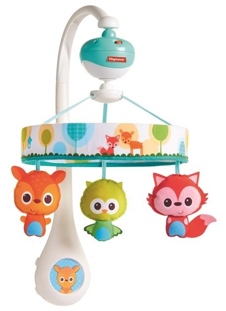 Мобиль на кроватку Маленькие друзьяМобили и музыкальные карусели на кроватку, игрушки для сна<br>Мобиль на кроватку Маленькие друзья<br>