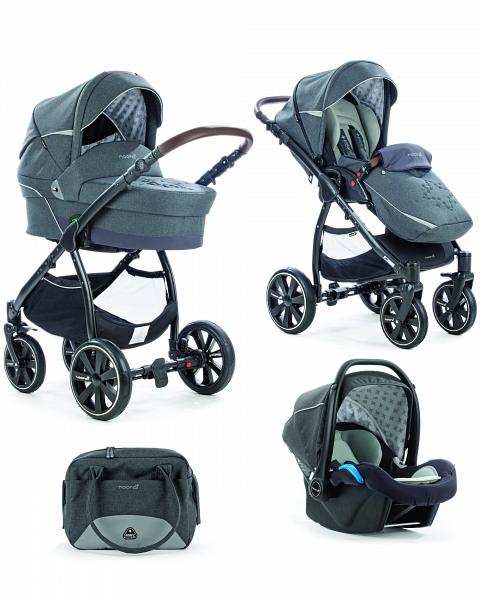 Коляска детская Noordi Polaris Comfort 3/1, iron gateДетские коляски 3 в 1<br>Коляска детская Noordi Polaris Comfort 3/1, iron gate<br>