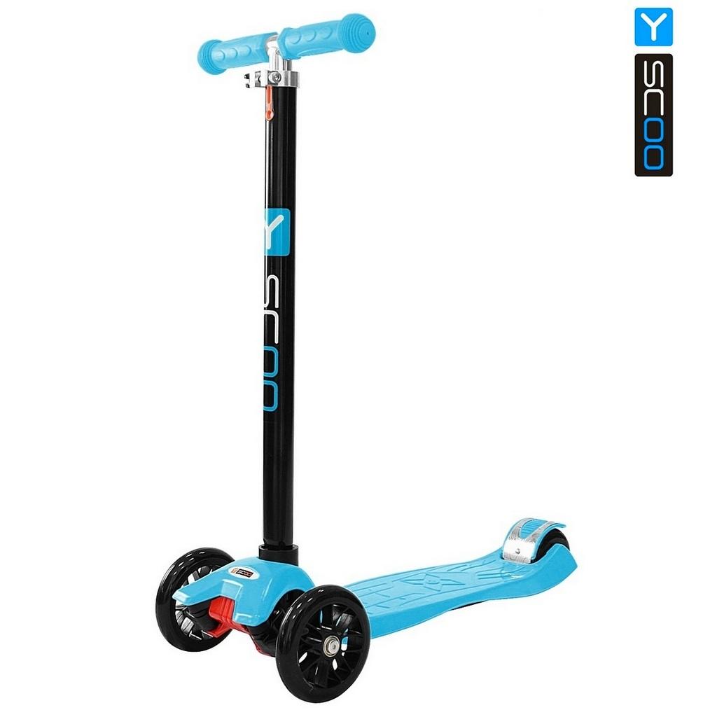 Купить Самокат Y-Scoo maxi A-20 Simple, голубой