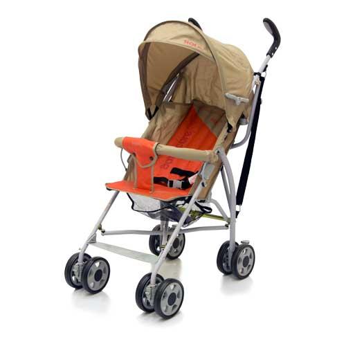 Коляска трость Hola, Dark Grey/RedДетские коляски Capella Jetem, Baby Care<br>Коляска трость Hola, Dark Grey/Red<br>