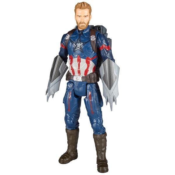 Купить Фигурка Avengers Movie - Капитан Америка Пауэр Пэк, Hasbro