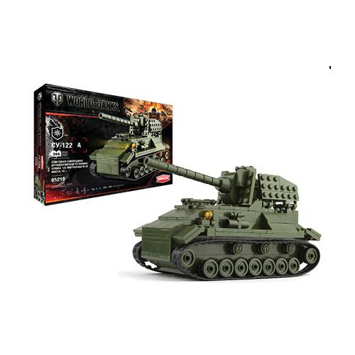 Конструктор World Of Tanks СУ-122А, 264 деталейКонструкторы других производителей<br>Конструктор World Of Tanks СУ-122А, 264 деталей<br>