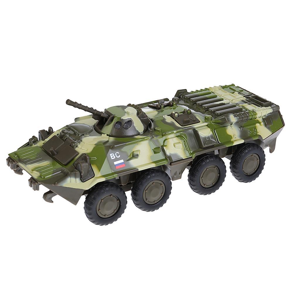 Купить Модель БТР-80, размер 20 см. свет, звук, Технопарк