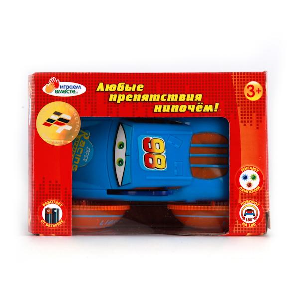 Машина-перевертыш со световыми и звуковыми эффектамиМашинки для малышей<br>Машина-перевертыш со световыми и звуковыми эффектами<br>