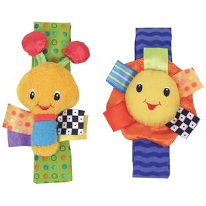 Игрушка-погремушка на ручку Стильная пара браслетиковДетские погремушки и подвесные игрушки на кроватку<br>Игрушка-погремушка на ручку Стильная пара браслетиков<br>