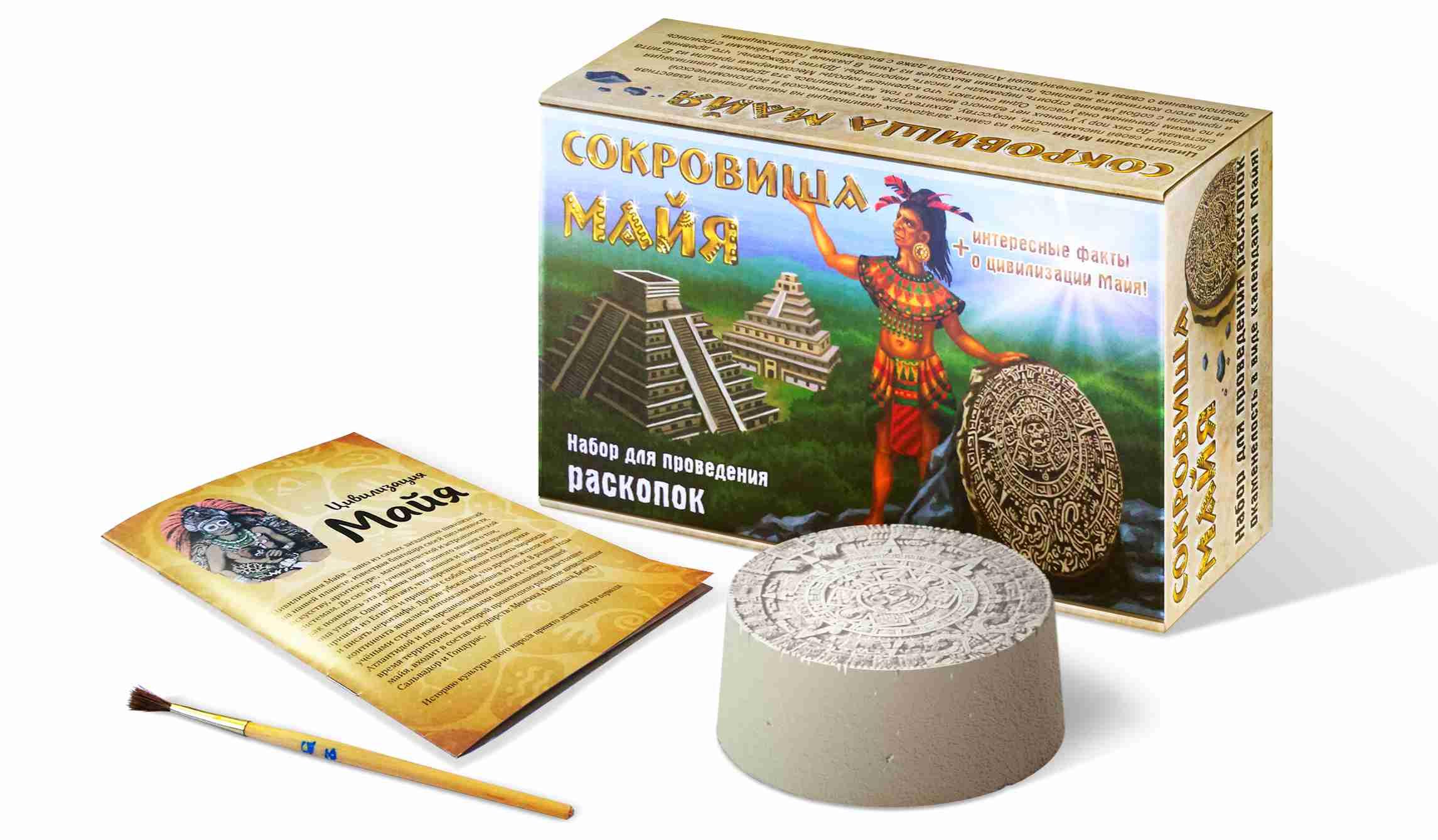 Настольная игра – Раскопка, Сокровища Майя Бэмби
