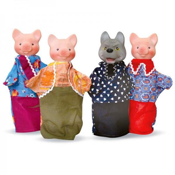 Кукольный театр - Три поросенкаДетский кукольный театр <br>Кукольный театр - Три поросенка<br>