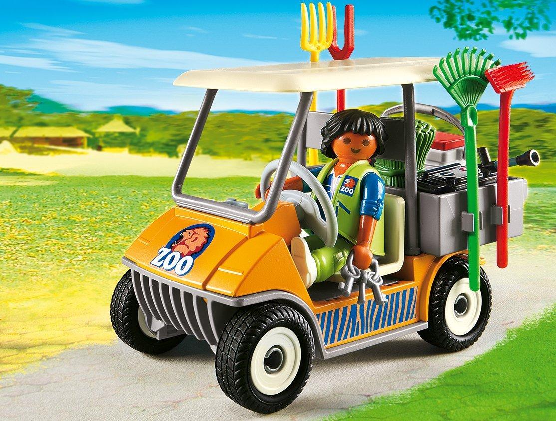 Игровой набор из серии Зоопарк: Автомобиль от Toyway