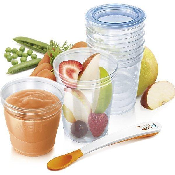 Набор контейнеров для хранения детского питанияТовары для кормления<br>Набор контейнеров для хранения детского питания<br>
