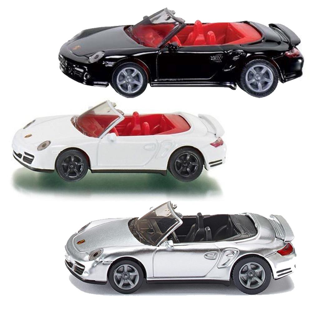 Купить Игрушечная модель - Porsche 911 Turbo кабриолет, 1:55, Siku