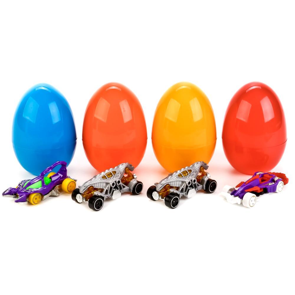 Купить Машинки металлические в яйце, 7, 5 см, несколько видов, Технопарк