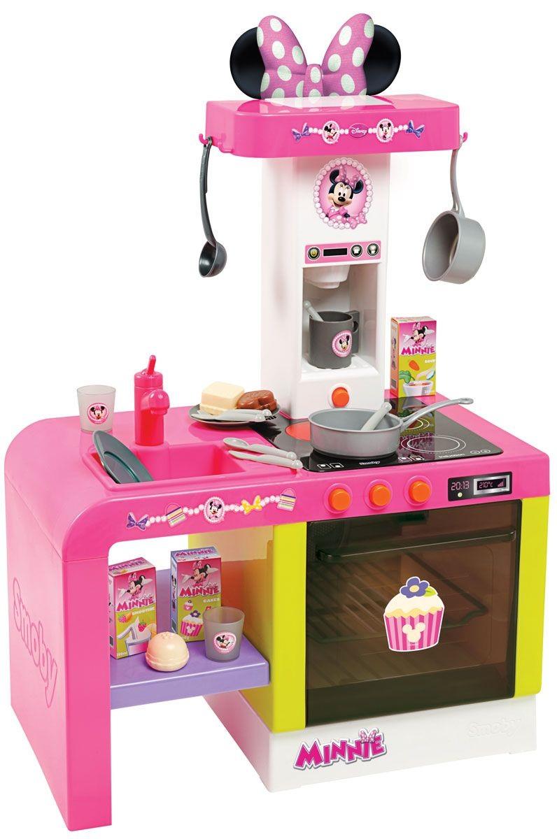 Cheftronic Minnie кухня игрушечная со светом и звукомДетские игровые кухни<br>Cheftronic Minnie кухня игрушечная со светом и звуком<br>