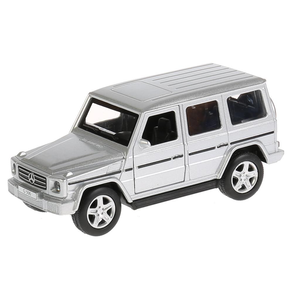 Купить со скидкой Металлическая инерционная машина – Mercedes-Benz G-Class, 12 см, открывающиеся двери и багажник
