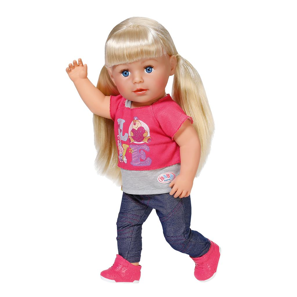 Интерактивная кукла Беби Бон Сестричка 43 см от Zapf 820