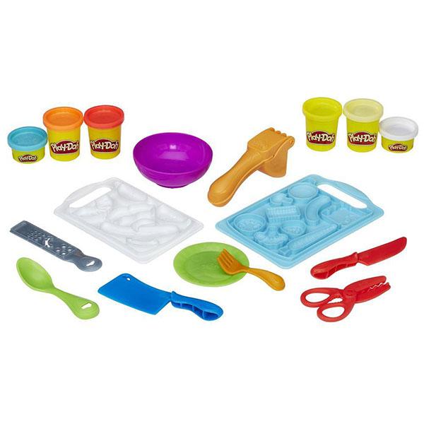 Игровой набор Play-Doh Приготовь и нарежь на долькиПластилин Play-Doh<br>Игровой набор Play-Doh Приготовь и нарежь на дольки<br>