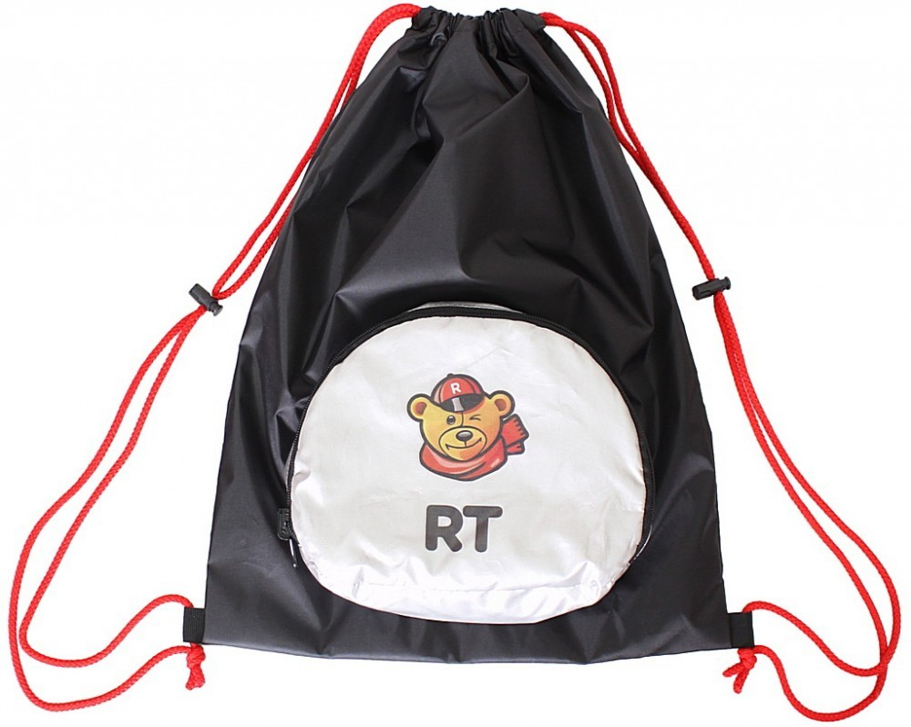 Складной мешок-рюкзак RT - Призрачный гонщик на самокат и велосипедАксессуары для самокатов<br>Складной мешок-рюкзак RT - Призрачный гонщик на самокат и велосипед<br>