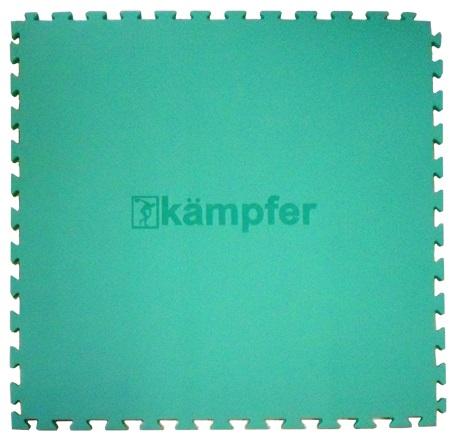 Гимнастический мат Kampfer Татами - Ласточкин хвост, зеленый F0000003963