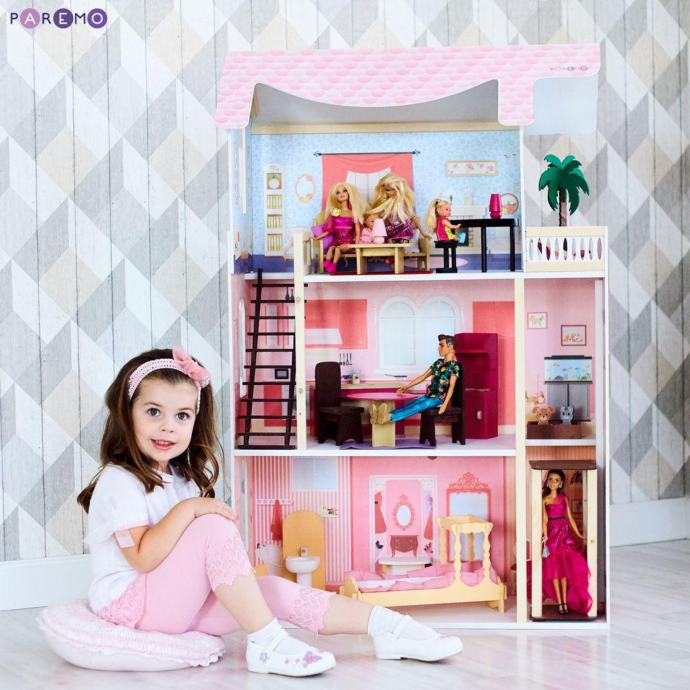 Кукольный домик Эмилия-Романья, с мебелью фото