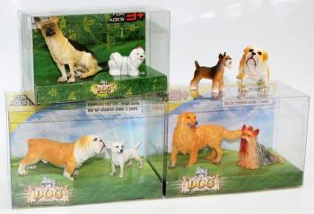 Набор фигурок - Собаки, 2 штСобаки и щенки (Dogs &amp; Puppies)<br>Набор фигурок - Собаки, 2 шт<br>