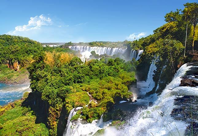 Пазл Водопад, Аргентина, 1000 элементов