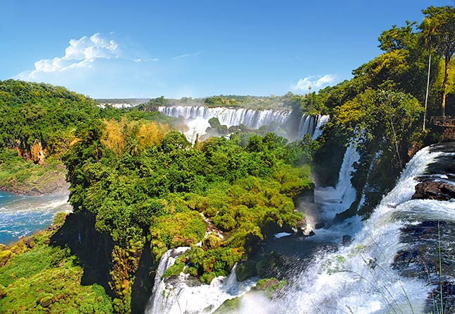 Пазл Водопад, Аргентина, 1000 элементовПазлы 1000 элементов<br>Пазл Водопад, Аргентина, 1000 элементов<br>