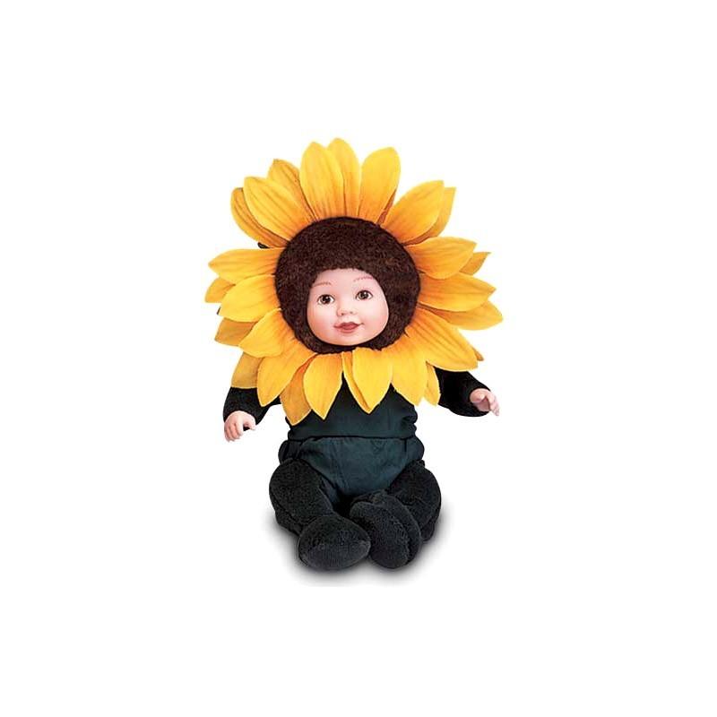 Кукла из серии «Детки-подсолнухи», 15 смКуклы детки ANNE GEDDES<br>Кукла из серии «Детки-подсолнухи», 15 см<br>