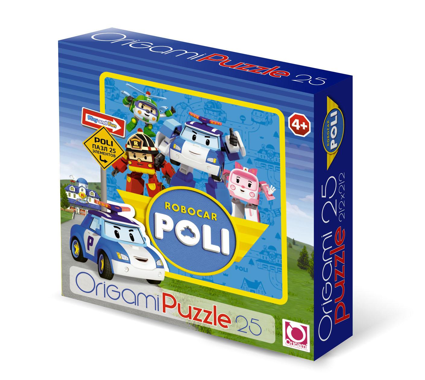 Паззл Robocar Poli 25 элементовRobocar Poli. Робокар Поли и его друзья<br>Паззл Robocar Poli 25 элементов<br>