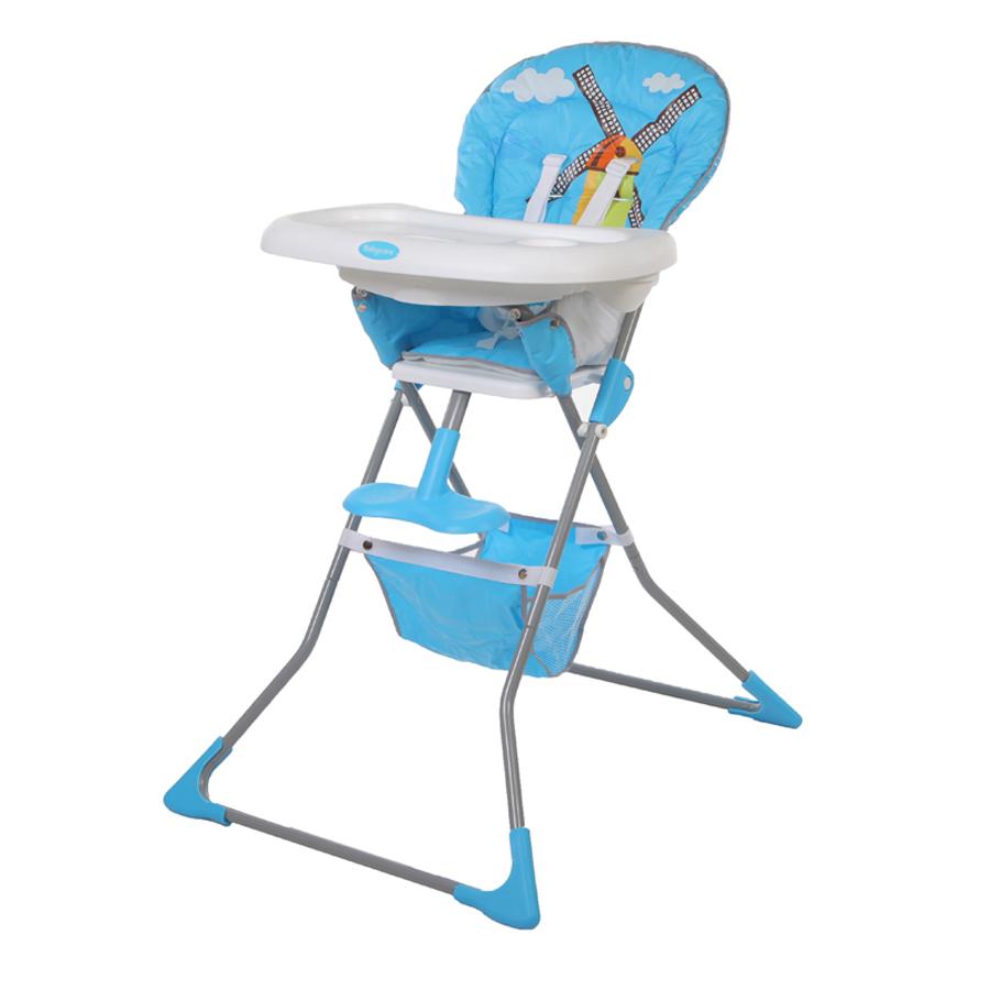 Детский стульчик для кормления Baby Care – Tea Time, синийСтульчики для кормления<br>Детский стульчик для кормления Baby Care – Tea Time, синий<br>