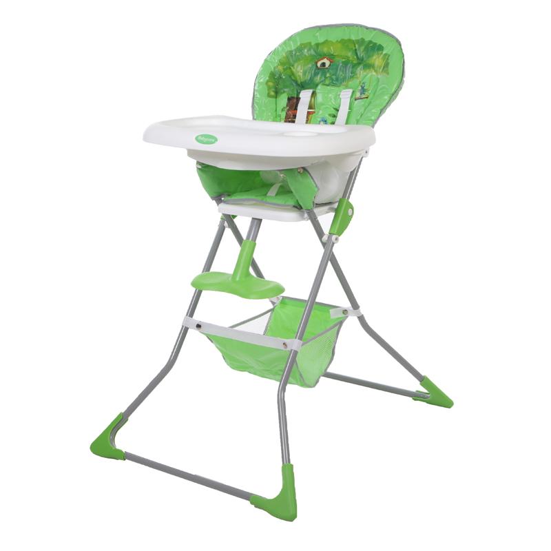 Детский стульчик для кормления Baby Care – Tea Time, зеленыйСтульчики для кормления<br>Детский стульчик для кормления Baby Care – Tea Time, зеленый<br>