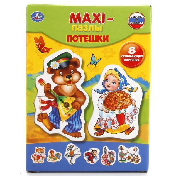 Макси-пазлы – Потешки, 8 картинокПазлы для малышей<br>Макси-пазлы – Потешки, 8 картинок<br>