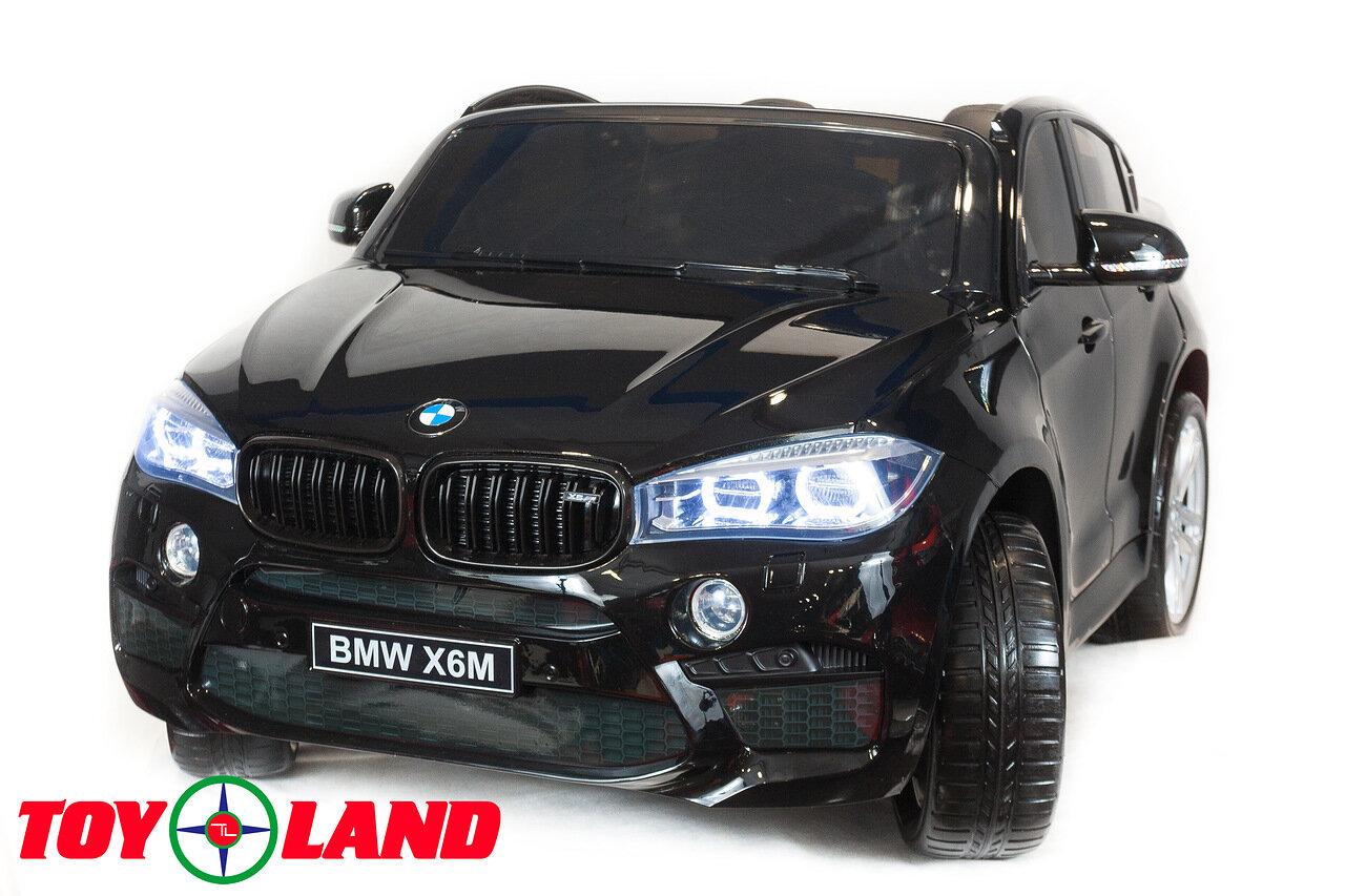 Купить Электромобиль ToyLand BMW X6 mini черного цвета