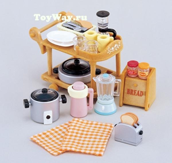 Набор  Кухонная посуда  - Игрушки Sylvanian Families, артикул: 97512