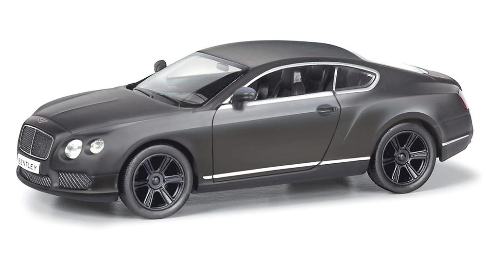 Металлическая инерционная машина RMZ City - Bentley Continental GT V8, 1:32, серый матовыйBentley<br>Металлическая инерционная машина RMZ City - Bentley Continental GT V8, 1:32, серый матовый<br>