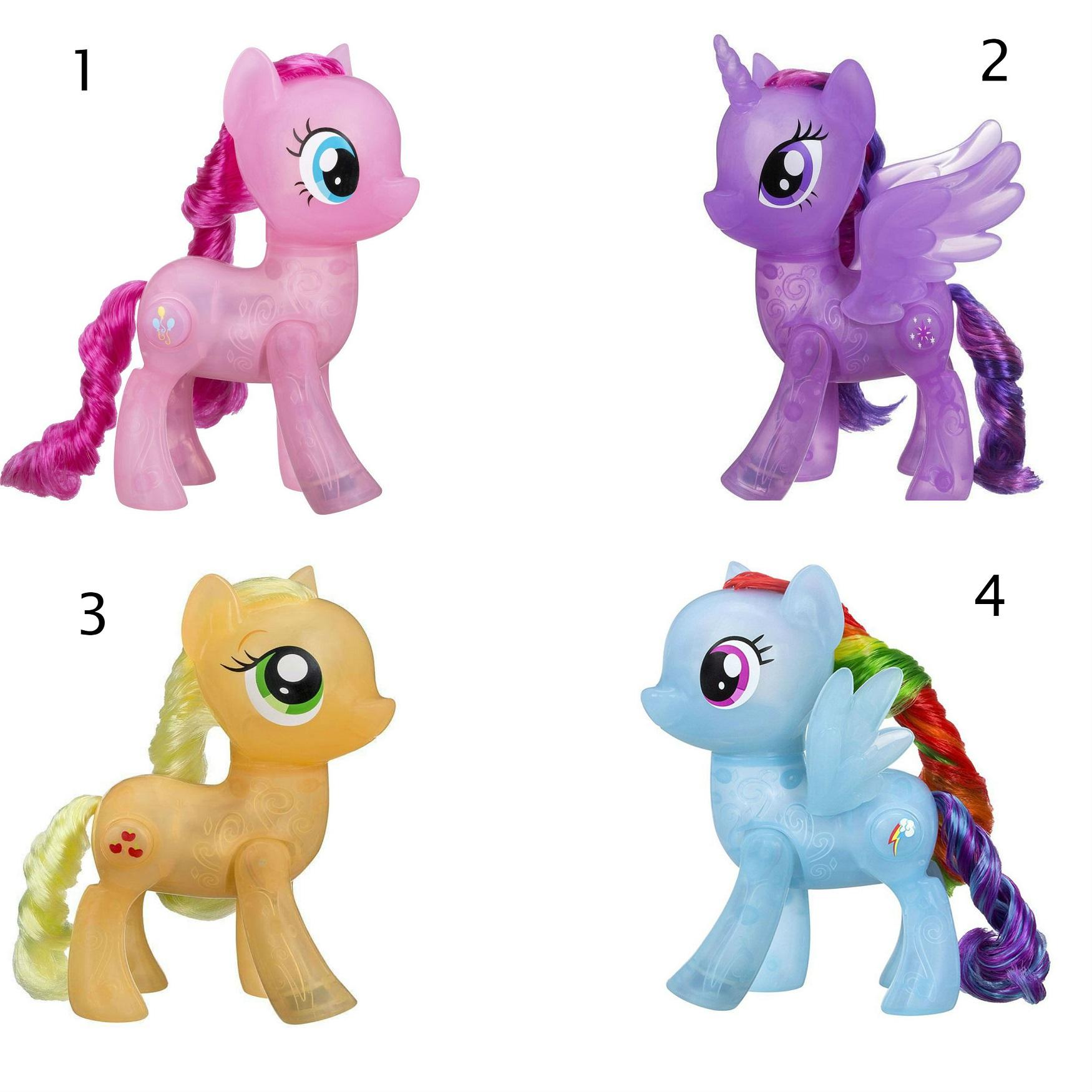 Купить Интерактивная игрушка Дай пять. Магия дружбы из серии My Little Pony Movie. Мерцание Пони, Hasbro