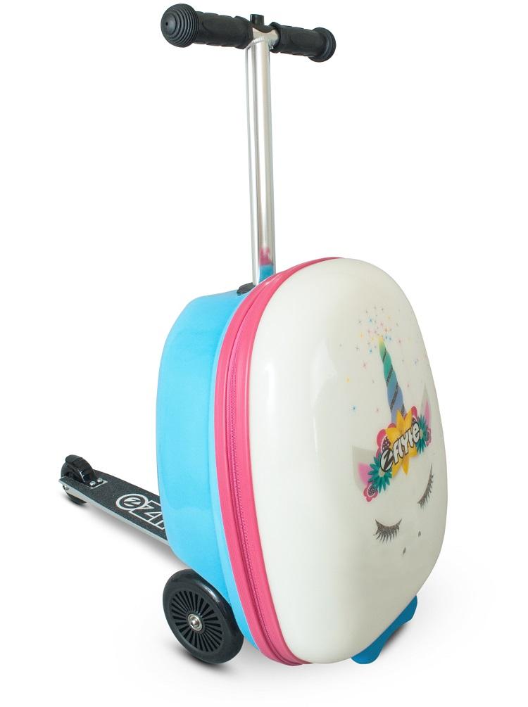 Самокат-чемодан - Единорог