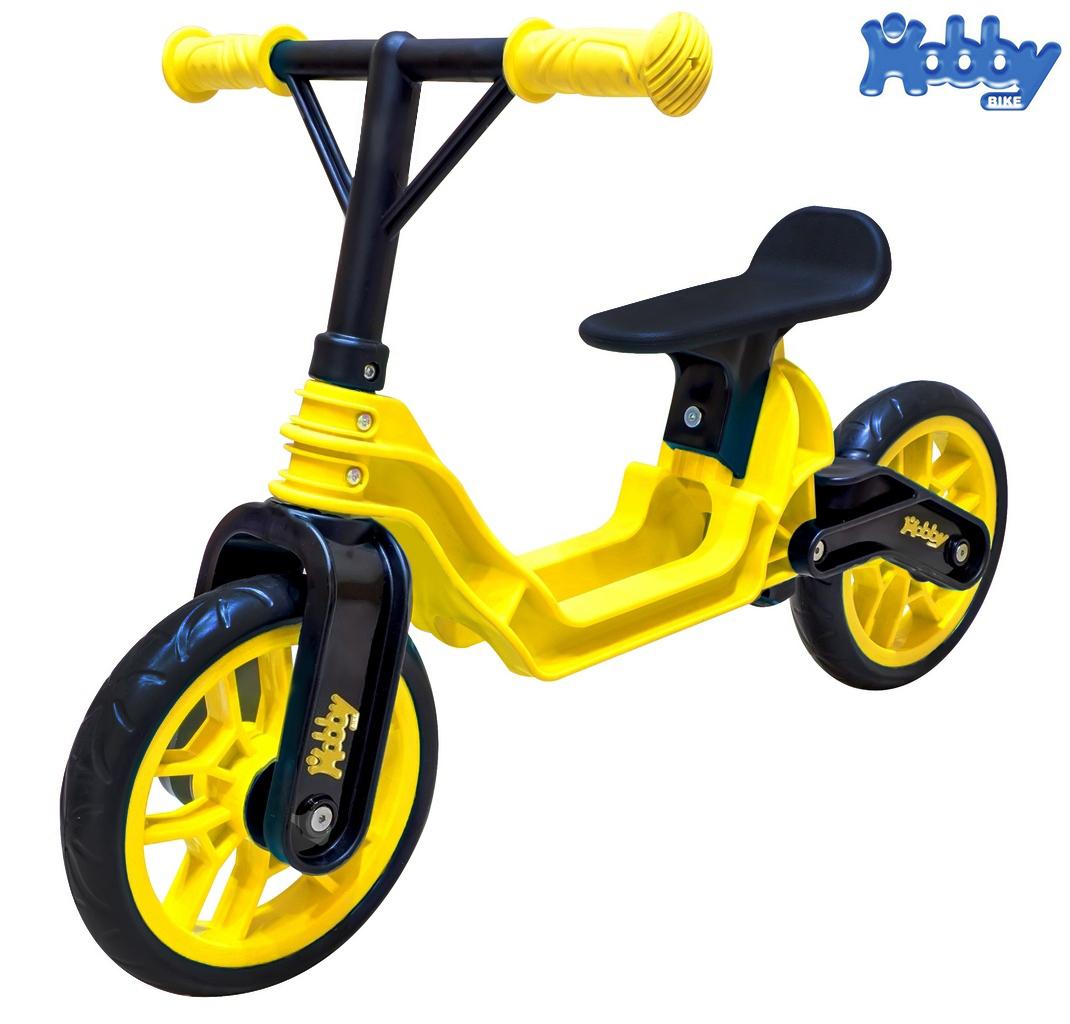 ОР503 Беговел Hobby bike Magestic, yellow black