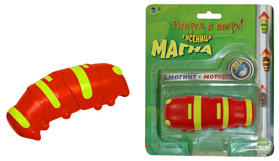 Гусеница Магна, магнитная, краснаяМальчикам<br>Гусеница Магна, магнитная, красная<br>