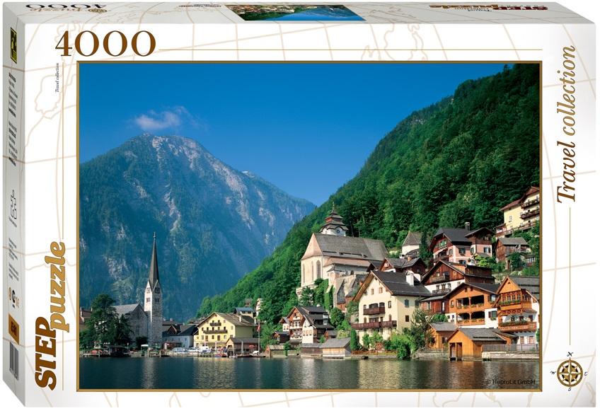 Пазл Австрия. Хальсштадт, 4000 элементовПазлы 3000 элементов<br>Пазл Австрия. Хальсштадт, 4000 элементов<br>