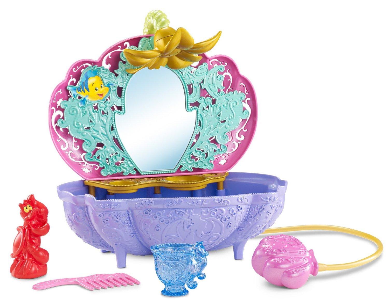 Набор Disney Princess «Ванная для Ариэль» с аксессуарамиИгрушки для ванной<br>Набор Disney Princess «Ванная для Ариэль» с аксессуарами<br>
