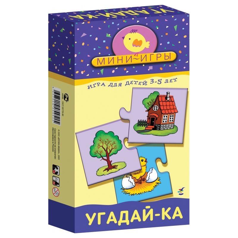 Игра настольная из серии Мини-игры – Угадай-ка фото