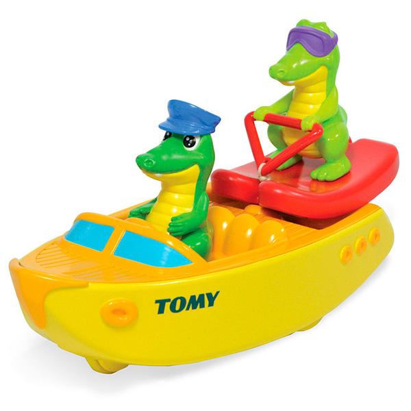 Игрушка для ванной «Крокодил на водных лыжах»Игрушки для ванной<br>Игрушка для ванной «Крокодил на водных лыжах»<br>