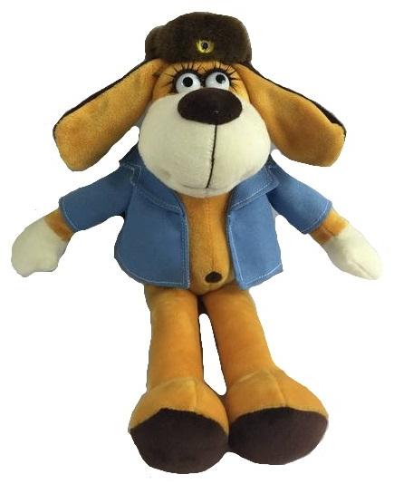 Мягкая игрушка - Собака в голубом пиджаке, 15 смСобаки<br>Мягкая игрушка - Собака в голубом пиджаке, 15 см<br>