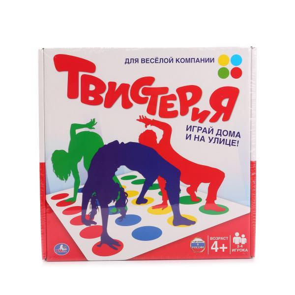 Настольная игра Твистер - ТвистерияТвистер (Twister)<br>Настольная игра Твистер - Твистерия<br>