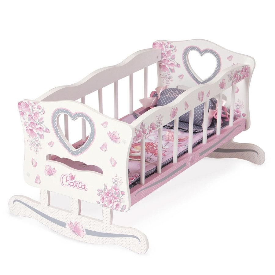 Кроватка-качалка для куклы, серия Мария