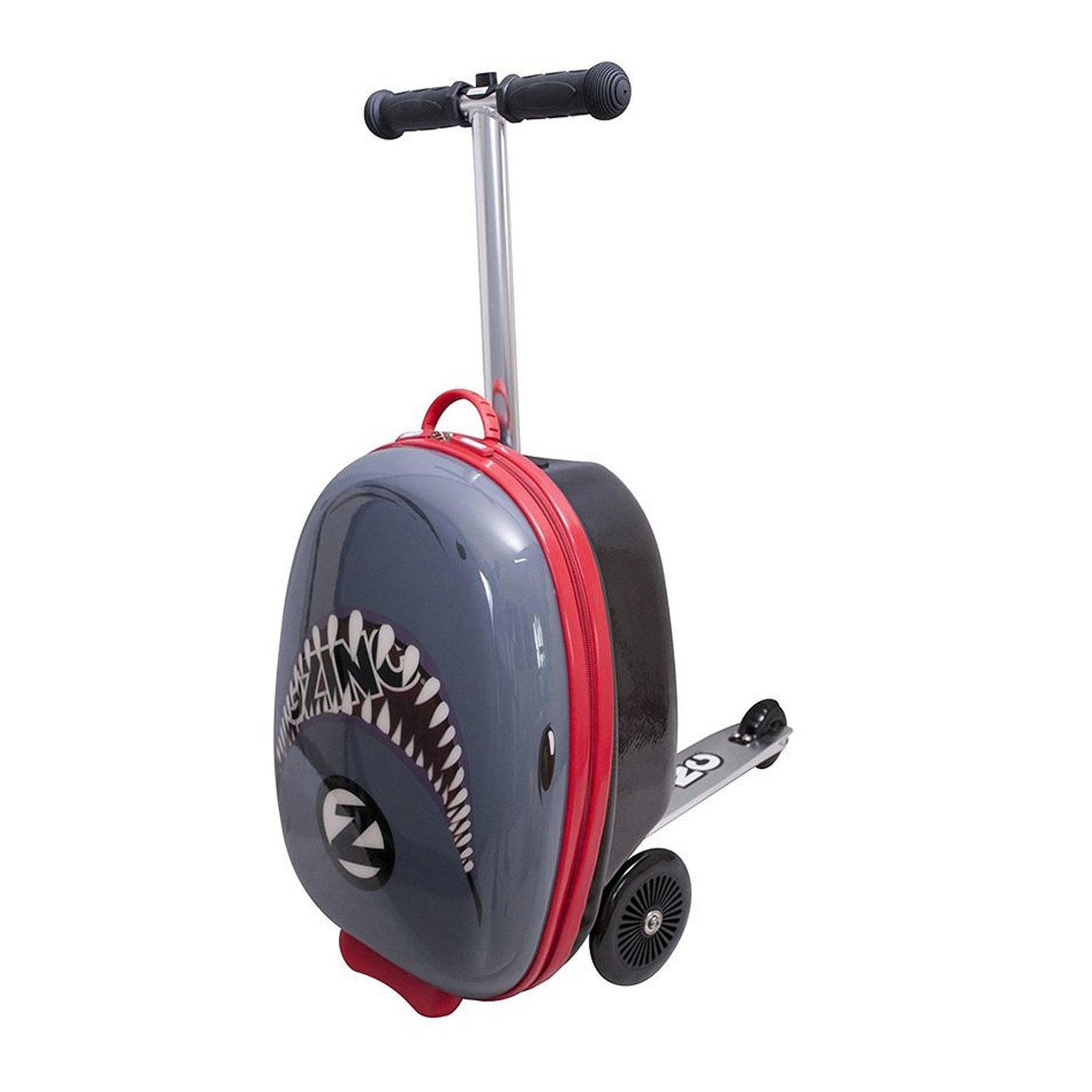 Самокат-чемодан Flyte - Акула