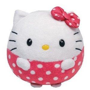Мягкая кошечка Хелло Китти в виде шарикаИгрушки Hello Kitty<br>Мягкая кошечка Хелло Китти в виде шарика<br>