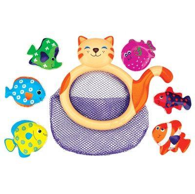 Сачок для ванной Кошечка Мими и рыбки - Игрушки для ванной, артикул: 8131